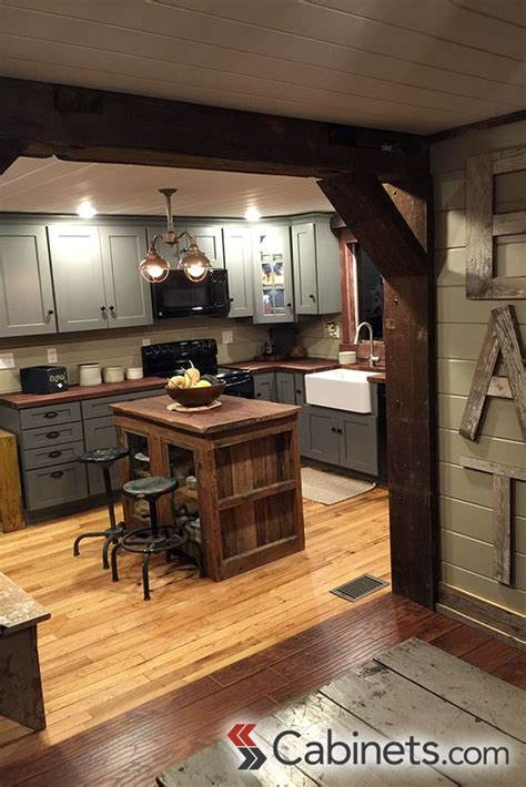 Cute Rustic Kitchen Featuring Deerfield Shaker Ii Maple. How To Finish Concrete Basement Walls. Spiders In The Basement. Proper Way To Insulate A Basement Wall. Basement Trench Drain. Finished Basement With Exposed Ceiling. Leaky Basement Repair Cost. Victorias Basement Melbourne. Foam Insulation For Basement Walls
