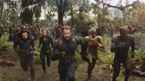 avengers infinity war trailer marvel releases