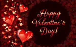 Happy Valentine's Day, romantic, love, hearts wallpaper ...