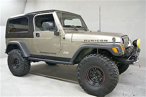 lj jeep for sale 2006 jeep wrangler unlimited lj rubicon used jeep