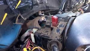2000 Silverado  Sierra Steering Wheel Airbag Removal