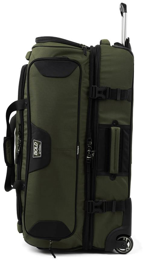 travelpro bold  drop bottom rolling duffel travelpro bold