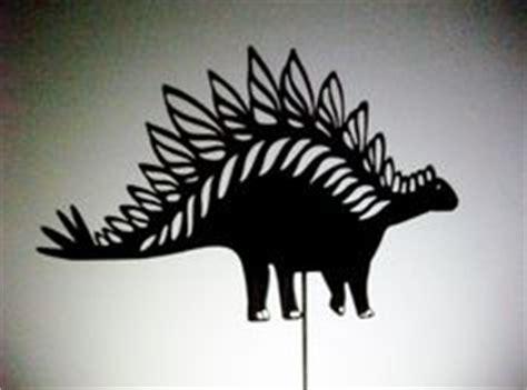 brontosaurus shadow puppet laser cut dinosaur crafts