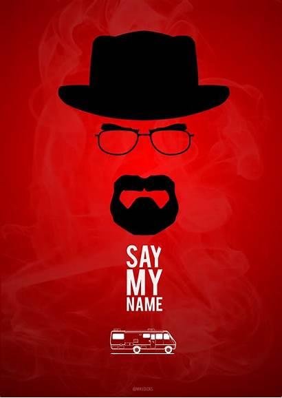 Breaking Bad Say Poster Wallpapers Iphone Heisenberg