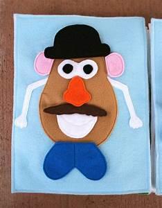 sunshine lollipops and rainbows mr potato head quiet With mr potato head felt template