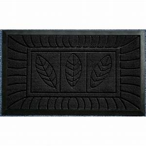 object moved With tapis d entrée noir
