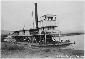 """File:View showing steamboat """"Cochan"""" on the Colorado River ..."""