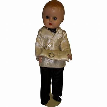 Doll Boy Plastic 1950s Hard