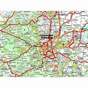 Préfecture Clermont Ferrand Carte Grise : carte routi re 25 km autour de clermont ferrand ~ Medecine-chirurgie-esthetiques.com Avis de Voitures