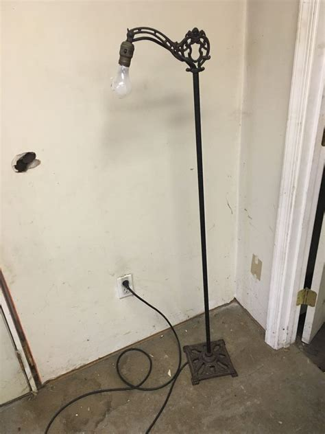 cast iron floor l antique vintage mission gothic goth maiden floor lamp w