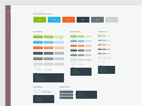 great examples  ui style guides web graphic