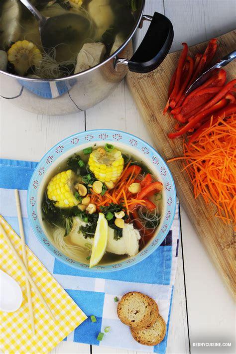 cuisine asiatique simple soupe de poisson asiatique simple et santé kedny