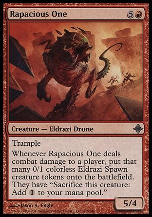 pauper rapacious one variant commander commander