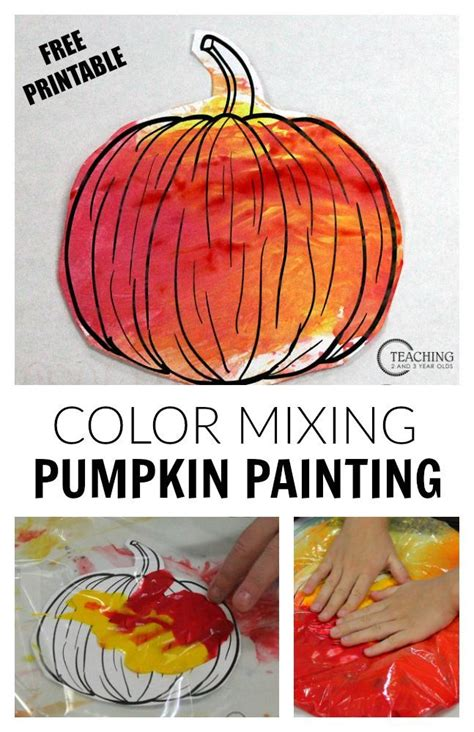no mess pumpkin with free printable fall 194 | 35067c912849825dfebc35ccf2784d97