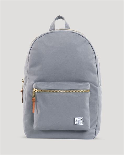backpack pull and sale herschel supply co settlement backpack in gray for