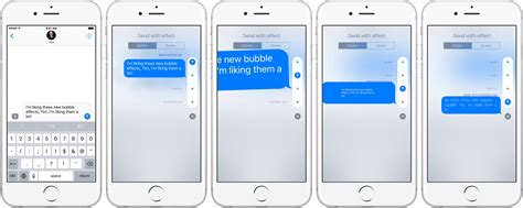 iphone effects how to use and screen effects in messages for