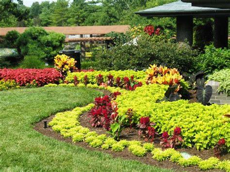 landscaped gardens designs lawn landscape garden design