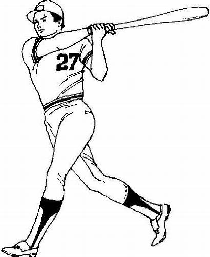Baseball Coloring Pages Player
