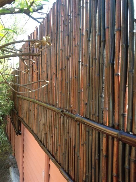 ekena millwork quot mosso quot bamboo wall extension done with mahogany bamboo