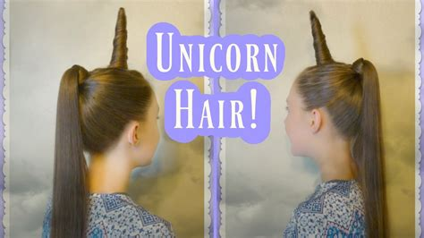 unicorn hairstyle tutorial  halloween  crazy hair day