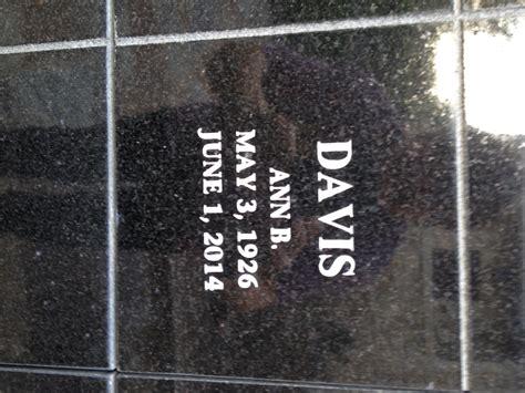 ann  davis   find  grave memorial
