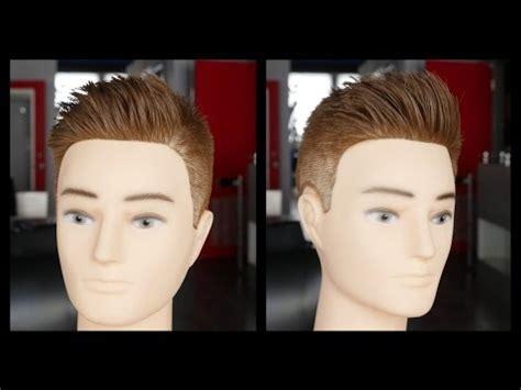 mens haircut tutorial step  step fade haircut