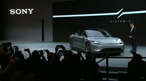 CES 2020: Sony introduced Vision S, the first electric car ...