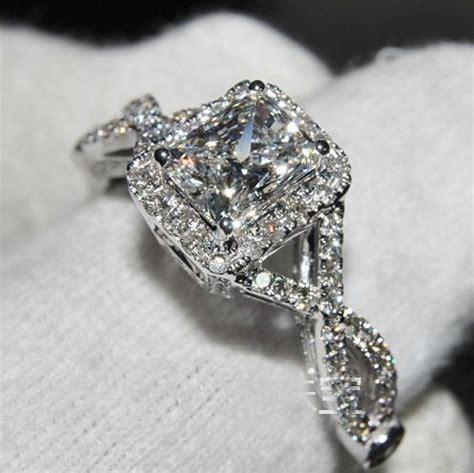 High Quality Fake Diamond Rings  Wedding, Promise