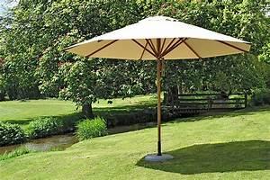 sonnenschirm holz 3m ampelschirm sonnenschirm 3m mit With französischer balkon mit sonnenschirm hawaii natur