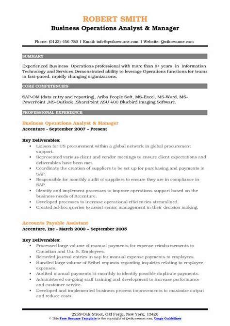 stron biz procurement manager resume sle