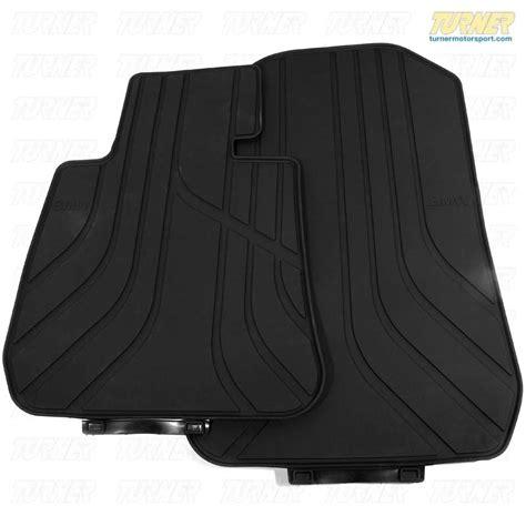 51472311024x  Genuine Bmw Rubber Floor Mats  Black E90
