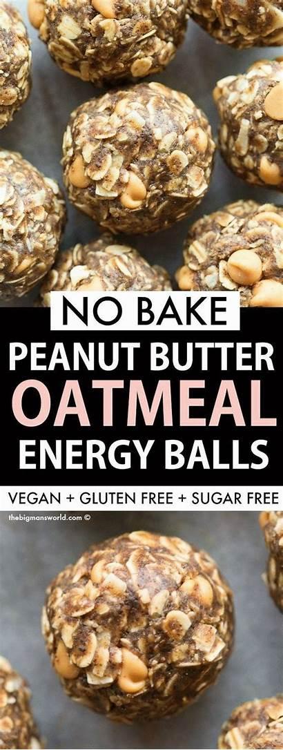 Peanut Butter Oatmeal Energy Balls Protein Bake