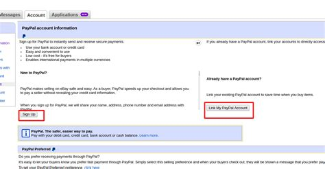 paypal sign up form prestashop ebay integrator api integration user manual