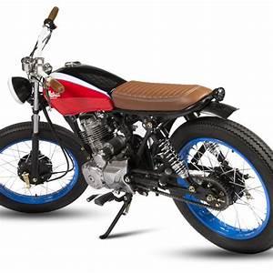 Honda Cg125 Belladonna By Maria Motorcycles