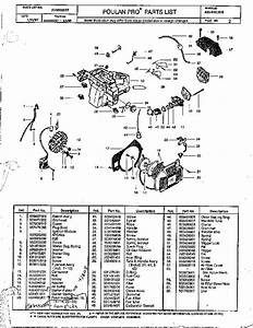 Husqvarna 445 Chainsaw Parts Diagram
