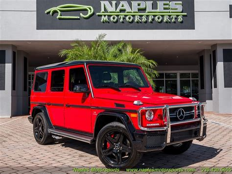 We make every effort to ensure the accuracy of the information on this site, however errors do occur. 2017 Mercedes-Benz G63 AMG for sale in Naples, FL | Stock #: 19-277976