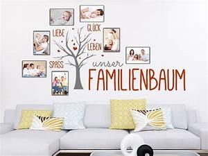 Wandtattoo Mit Bilderrahmen : wandtattoo fotorahmen familienbaum wandtattoo de ~ Bigdaddyawards.com Haus und Dekorationen