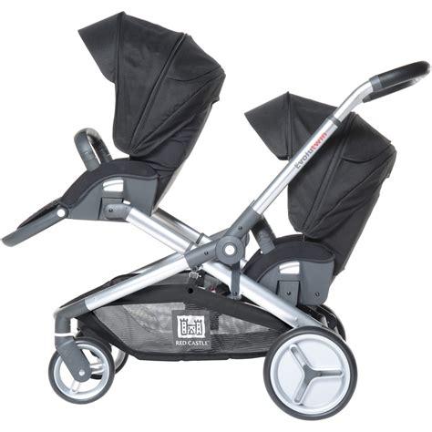 siege auto poussette poussette jumeaux evolutwin avec sièges auto rc2 noir de