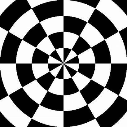 Checkerboard Pattern Circular Reversal Animated Clipart Contrast