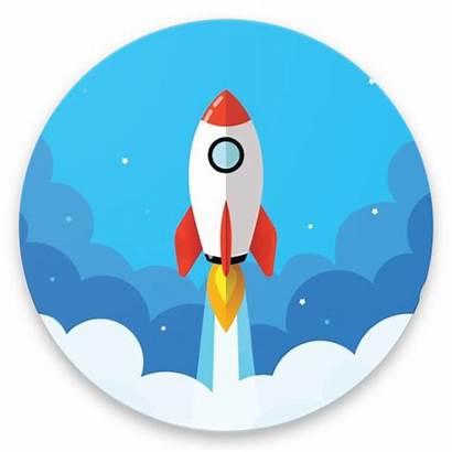 Rocket Animated Lock Screen Login Application