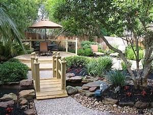Gravier Decoratif Exterieur : pont de jardin designs inspirants en 55 photos fascinantes ~ Melissatoandfro.com Idées de Décoration
