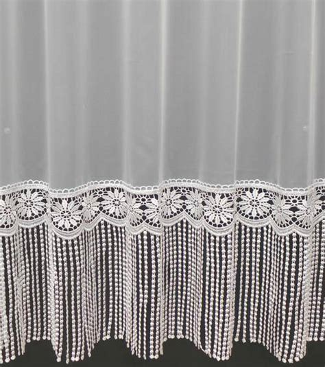 shelly macrame white voile curtain made to measure voile