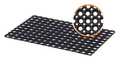 tapis caillebotis caoutchouc exterieur 40 x 60 cm 22mm