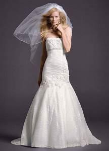 david39s bridal lace mermaid wedding dress with floral With floral lace wedding dress