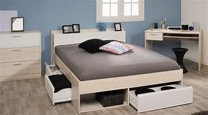 140 Oder 160 Bett : lit 140 cm bureau et commode most 59 sb meubles discount ~ Bigdaddyawards.com Haus und Dekorationen