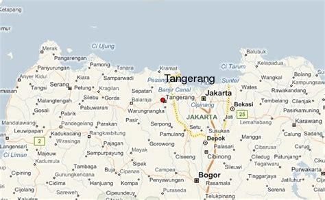 business map kota tangerang banten tempat tinggalku