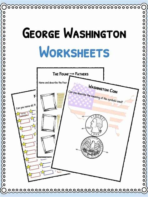 george washington facts biography information
