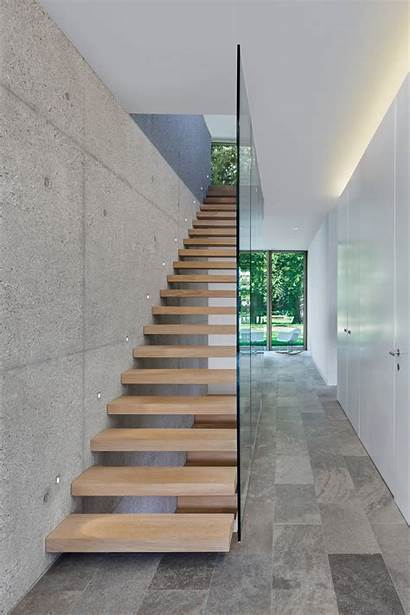 Staircase Stairs Modern Designs Floating Architektur Haus