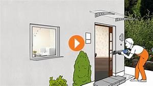 Haustür Mit Einbau : haust r einbauen erkl rvideo obi ~ Eleganceandgraceweddings.com Haus und Dekorationen