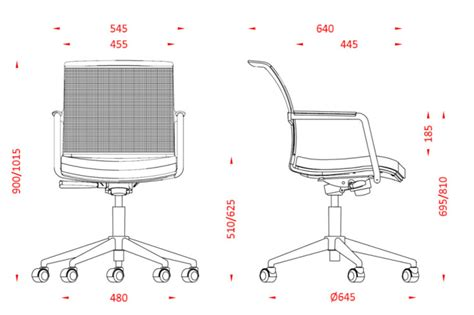 Desk Chair Size by Desk Chair Plan Dimensions Www Imgkid The Image